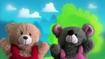 One Two Three Puppets Show | Puppet Show For Children | Teddy Bear Cartoon Rhymes.