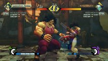 Ultra Street Fighter IV battle: Hugo IND ALaughingGoblin vs Vega HADOUKEN130