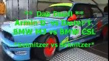 Tourenwagen-Revival, N`ring, 19.06. 2010,das Duell BMW M3 vs BMW 3.5 CSL, onboard & mehr