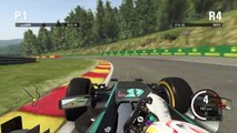 F1 2015 Spa Francorchamps Grand Prix Circuit Onboard Lap Lewis Hamilton |PS4