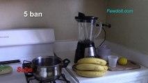 Banana popsicles. How to make banana popsicles