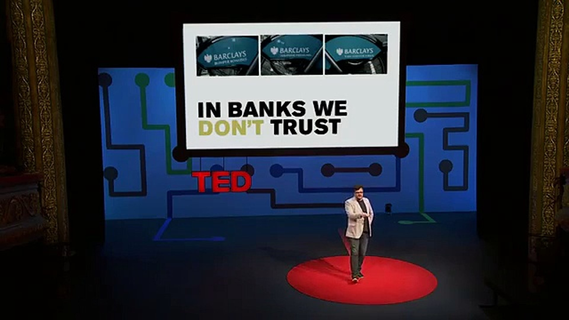 Paul Kemp-Robertson TED Talk: Bitcoin. Sweat. Tide. Meet the future of branded currency.