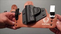 Comparing my new Alien Gear holster to my Old Faithful holster
