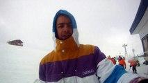 Snowboarding les Deux alpes 2011