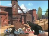 Orange Box Team Fortress 2 xbox 360 online play pt. 3