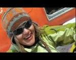 Snowboarding in Russia. Kamchatka heli-ski and heli-boarding trip