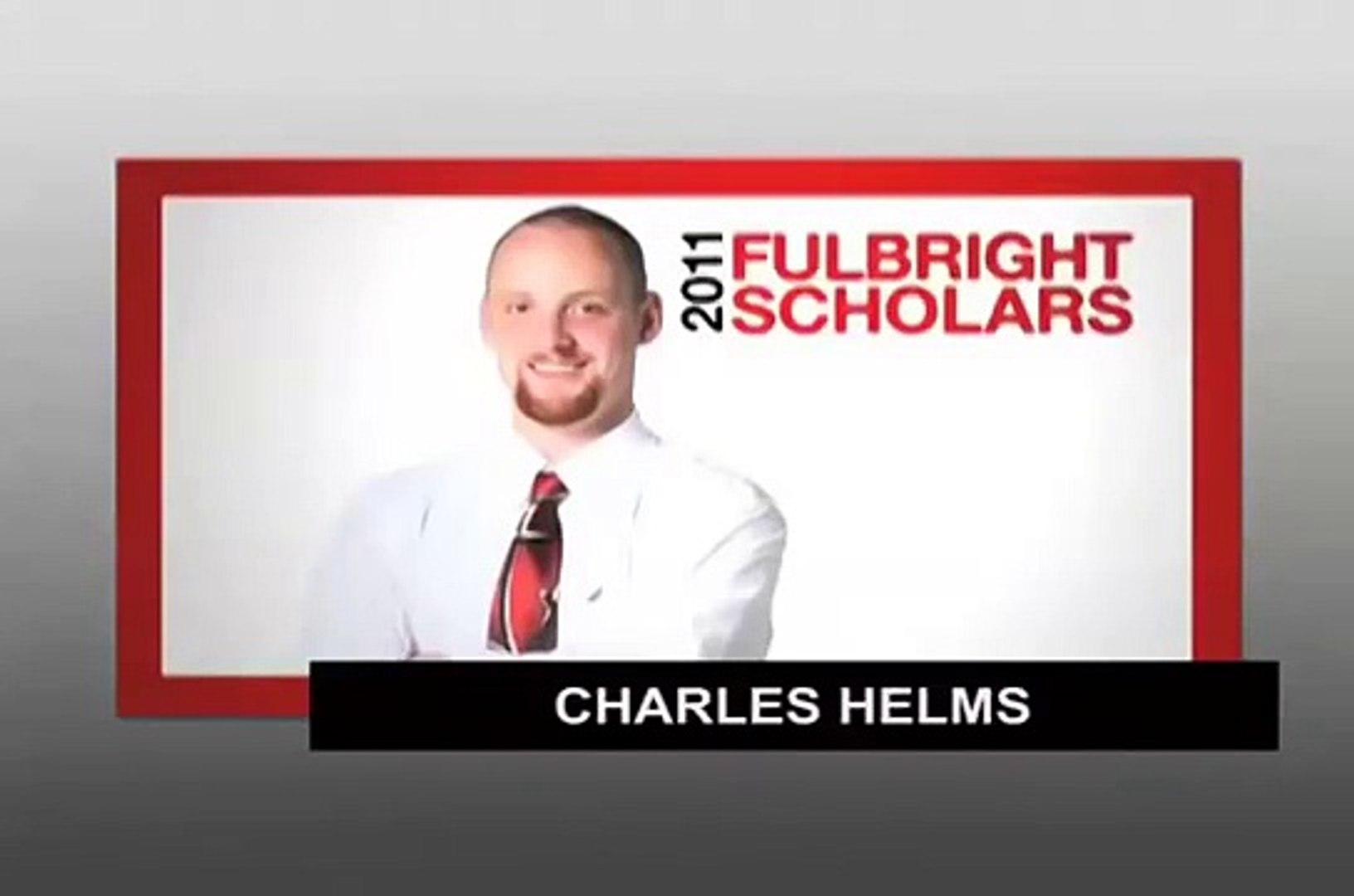 Charles Helms, 2011 US Student Fulbright Scholar