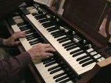 Gospel hammond organ -  I'd Rather Be An Old-Time Christian
