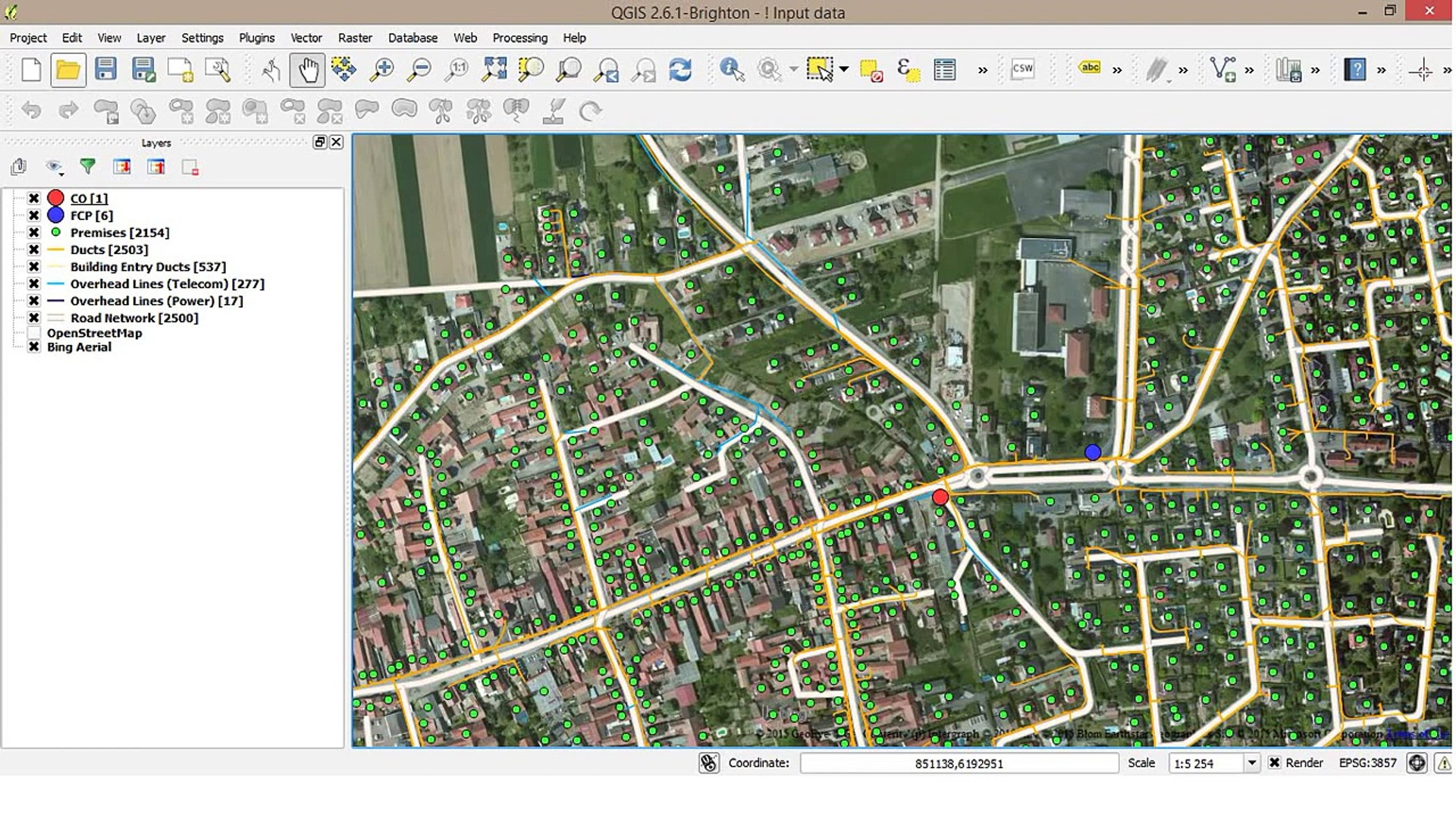 Fttx Ftth Network Planning And Design Software Setics Sttar Video Dailymotion