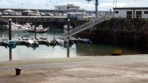 Paisajes de Asturias: El puerto de Candás. hoy 18 Agosto