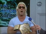 NWA 6/21/86 Ric Flair Dusty Rhodes Road Warrior Hawk