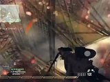 Cod Mw2 Highrise Intervention Sniper with Thermal scope Gameplay!!!