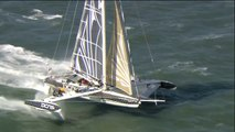 Record / l'Hydroptère DCNS vendredi dans la baie de San Francisco pour un nouveau record