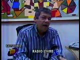 Bastidores da Rádio Jornal/AM - Recife (Programa Cena Livre - TVU)