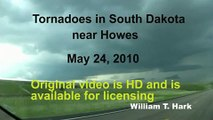 May 24, 2010 South Dakota Tornadoes near Howes to Faith in Meade County