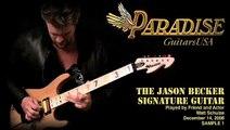Matt Schulze and the Jason Becker Signature Guitar, Clip 1