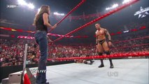Triple H vs Randy Orton & Ted Dibiase 2-on-1 Handicap Match | Raw Español Latino ᴴᴰ