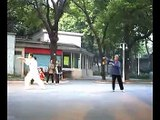 Yang Style Taichi seen in Guang Dong China