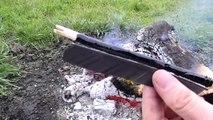 Otzi The Iceman Arrow Part 3  Primitive Archery Bow Hunting