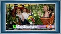 G7 in Bavaria  Ukraine & Russia, beer drinking, protests, security lockdown