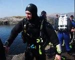 Scuba diving in Ireland deep diving