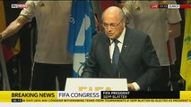 Sepp Blatter Speaks To FIFA Congress - Full Speech