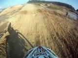 GoPro Honda CR 125 On Brnik Motocross Track