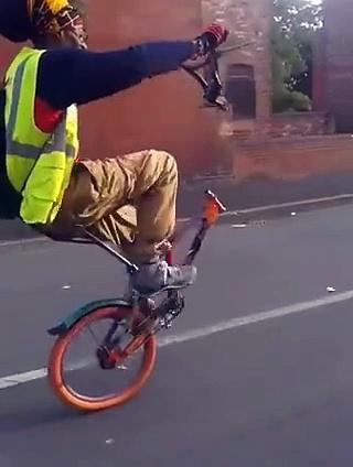Bike riding at its peak