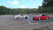 Drifting - Nissan 200SX vs R33 GTR