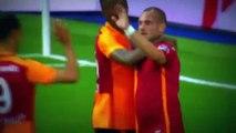 Real Madrid vs Galatasaray 2-1 Trofeo Santiago Bernabeu 2015 Wesley Sneijder Goal