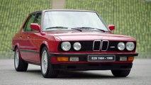 "Drifting the strongest BMW M car. BMW M5 ""30 Jahre M5""."