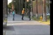 2015 Brand New Orbit wheel Skate Board Cycle Blue/Black/Yellow Free Ride Kick Board Scooter