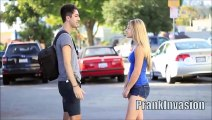 Kissing Prank - Staring Contest ( Kissing Hot Sexy Girls )