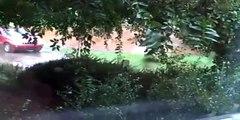 Flood in Clemmons, NC (9/1/2013) [WARNING: SHAKYCAM]