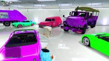 """GTA 5 Online """"RARE & MODDED VEHICLES"""" Showcase (GTA MODDED CARS) Modded: paint jobs, cars and more!"""