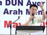 Nga Kor Ming speech at Melaka 517  P2#5
