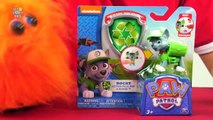 Paw Patrol Rocky Action Pack Pup and Badge Figure Review Nickelodeon