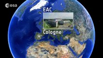 ESA's Space Operations Centre - the ESOC music video