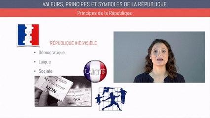 Brevet éducation civique - Valeurs, principes et symboles de la République