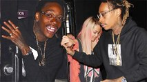 (VIDEO) OMG! Wiz Khalifa DATING Rita Ora? Abuses Paparazzi, Sneak Out of Nightclub