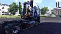 Euro Truck Simulator 2 : Pack n°3 - skins Crysis 3 (Volvo FH16+Remorques)