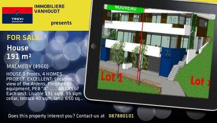 For Sale - House - MALMEDY (4960) - 191m²