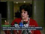 Em coletiva, ministra Izabella Teixeira anuncia vetos presidenciais ao novo Código Florestal