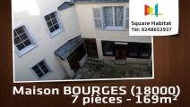 A vendre - Maison/villa - BOURGES (18000) - 7 pièces - 169m²
