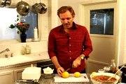 Homemade Gazpacho Recipe : Juice Lemons for Gazpacho Soup