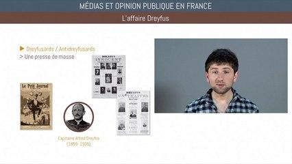 Bac histoire - Médias et opinions publiques en France
