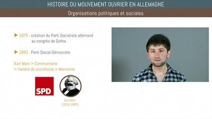 Bac histoire - Histoire du mouvement ouvrier en Allemagne