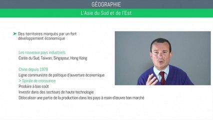 Bac géographie - L'Asie du Sud et de l'Est : les défis