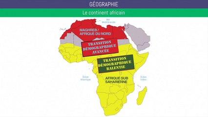 Bac géographie - Le continent africain et la mondialisation