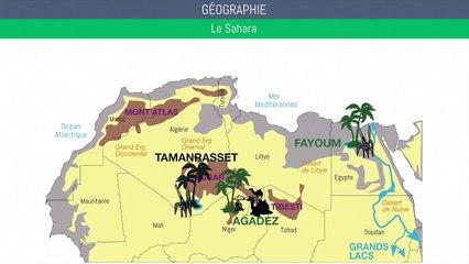 Bac géographie - Le Sahara